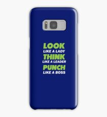 Look like a lady Samsung Galaxy Case/Skin