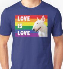 """""""LOVE IS LOVE"""" - Bull Terrier T-Shirt"""