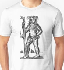 The Green Man - Renaissance Woodcut T-Shirt