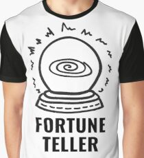 FORTUNE TELLER // PSYCHIC READER // CRYSTAL BALL Graphic T-Shirt
