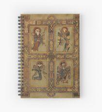 Book of Kells - Four Evangelists Spiral Notebook