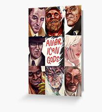 all gods looking us Greeting Card