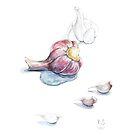 Garlic by Yana Art