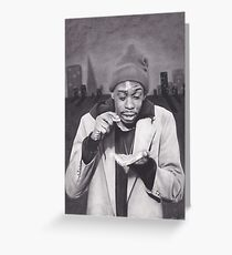 Tyrone Biggums (Dave Chappelle) in the Tenderloin Greeting Card