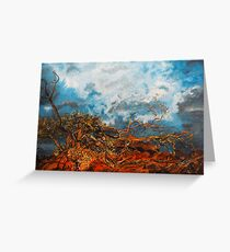 Nature's Fury Greeting Card