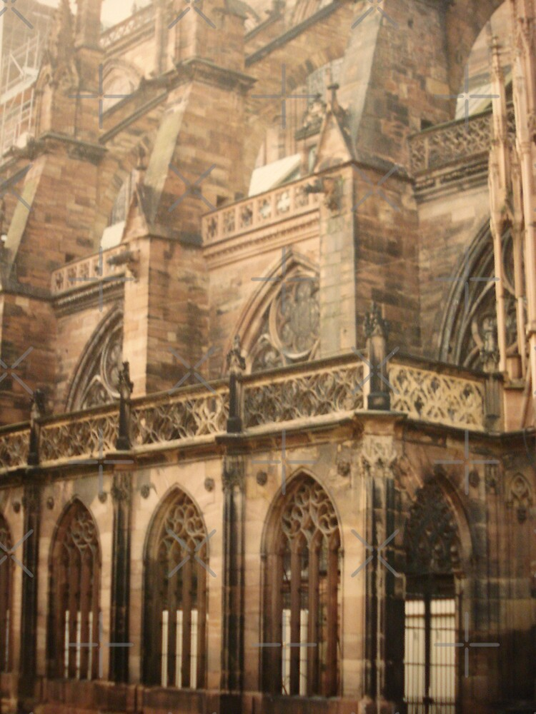 Strasbourg Cathedral  by JRobinWhitley