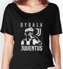 Dybala mask - white Women's Relaxed Fit T-Shirt