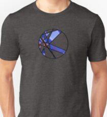 Strange Segments - 80's Panel Burst Unisex T-Shirt