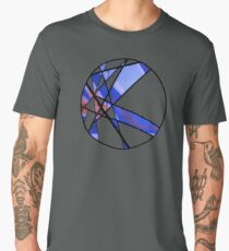 Strange Segments - 80's Panel Burst Men's Premium T-Shirt