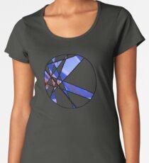 Strange Segments - 80's Panel Burst Women's Premium T-Shirt