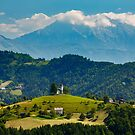 Church of Saint Thomas in the Skofja Loka Hills by Ian Middleton