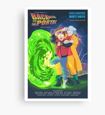 Back to the Portal! Canvas Print