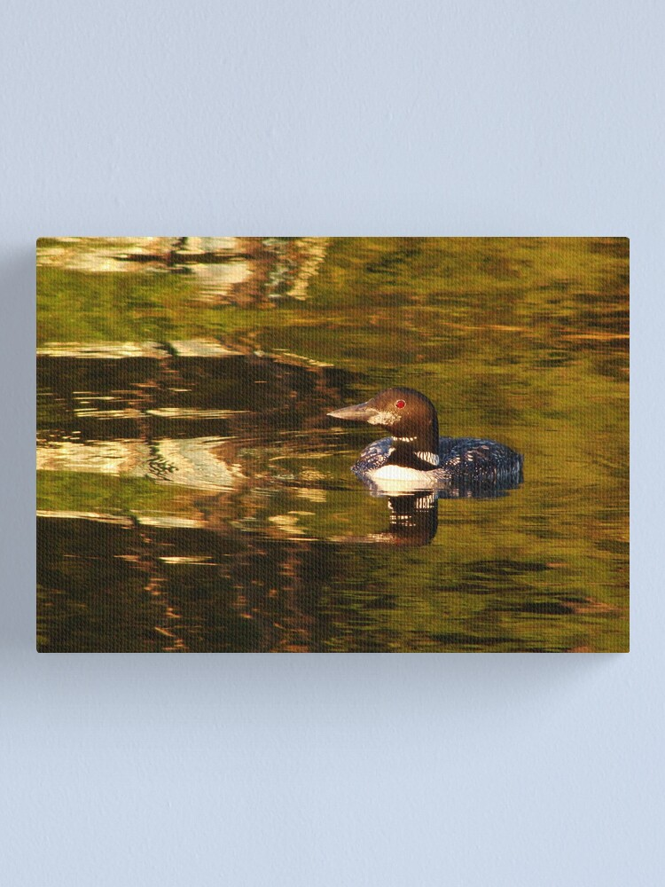 Alternate view of Prayer of the Loon Canvas Print