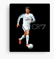 Cristiano Ronaldo - CR7 number one - runner Canvas Print