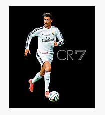 Cristiano Ronaldo - CR7 number one - runner Photographic Print