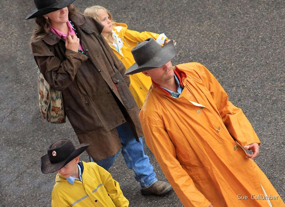 Modern Cowboys by Sue  Cullumber