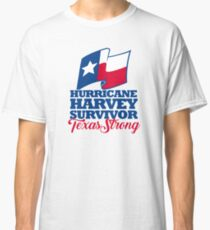 Harvey Survivor Texas Strong Classic T-Shirt