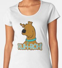 Ruh-Roh! Scooby Doo Women's Premium T-Shirt