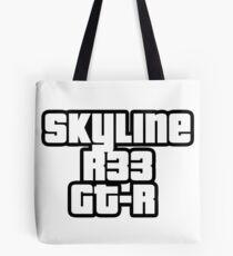 Skyline R33 GT-R Tote Bag