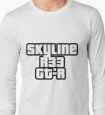 Skyline R33 GT-R Langarmshirt