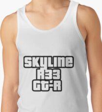 Skyline R33 GT-R Tank Top