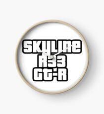 Skyline R33 GT-R Uhr