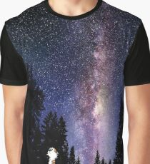 calvin and hobbes sky Graphic T-Shirt