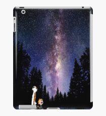 calvin and hobbes sky iPad Case/Skin