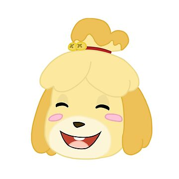 Isabelle Head Happy by TimeladyAt221b