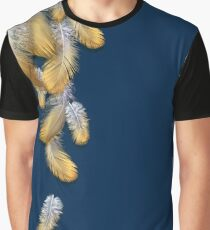 Feather Cascade Graphic T-Shirt
