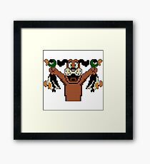 Duck Hunt - Video Game Dog Framed Print