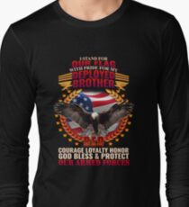 Deployed Brother Armed Forces Tribute T-Shirt