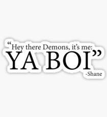 YA BOI Sticker