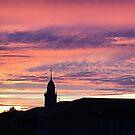 Soleil couchant après orage by lorelei84