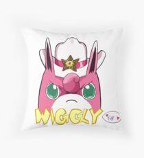Sheriff Wigglytuff Throw Pillow