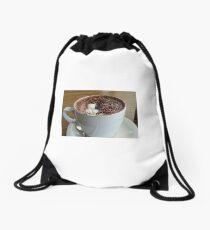 Hot Chocolate Drawstring Bag
