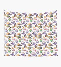 Budgies & Cockatiels Wall Tapestry
