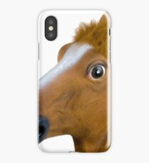 funny horse by remsoun iPhone Case/Skin