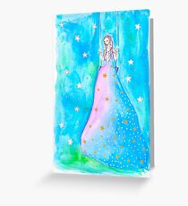 Swing On A Star (Bright Version) Greeting Card