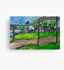 Lunch in the park Canvas Print