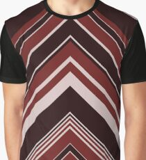 Geometric Geode - Red/Black Graphic T-Shirt