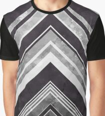 Geometric Geode - Silver Graphic T-Shirt