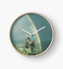 Rainbow of hope Clock