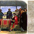 Signing of the Magna Carter by Clive