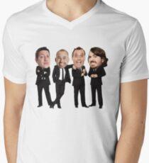 Impractical Jokers Bobbleheads Men's V-Neck T-Shirt