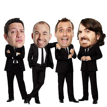 Impractical Jokers Bobbleheads by sg357
