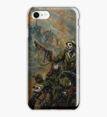 Death on wheels. With a gun! iPhone Case/Skin