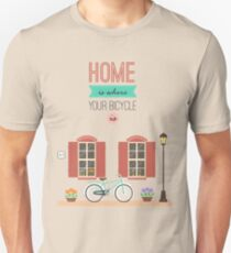 Home with bicycle T-Shirt