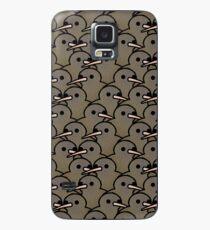 Too Many Birds! - New Zealand Kiwi Case/Skin for Samsung Galaxy