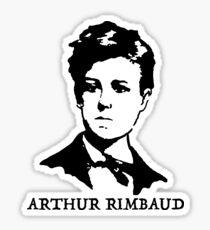 Arthur Rimbaud Sticker